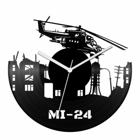 Mi-24 helikopter bakelit óra