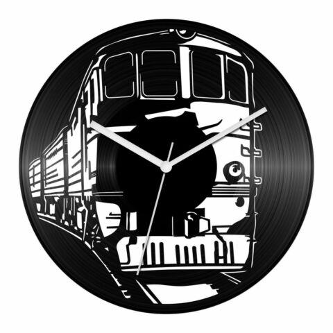 Vonatos bakelit óra