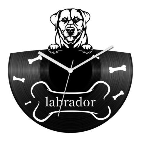 Labrador bakelit óra
