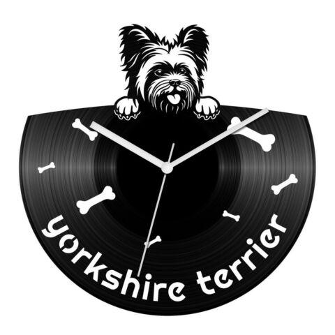 Yorkshire terrier bakelit óra