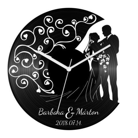 Esküvő 4 bakelit óra