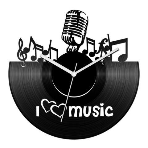 I love music bakelit óra