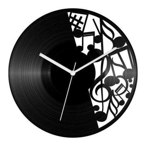 Óriás hangjegyes bakelit óra