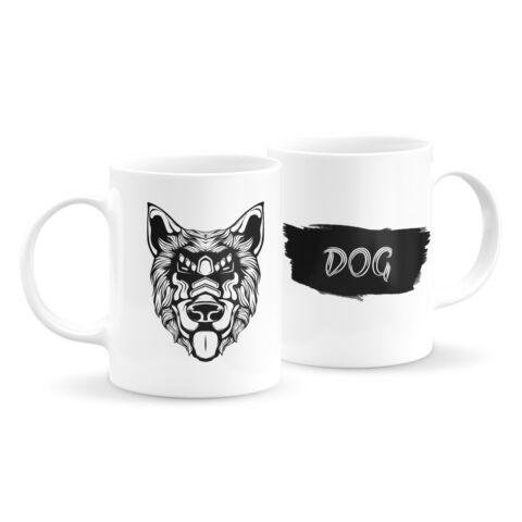 Állatfejes bögre - kutya 7