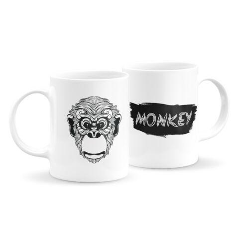Állatfejes bögre - majom 1