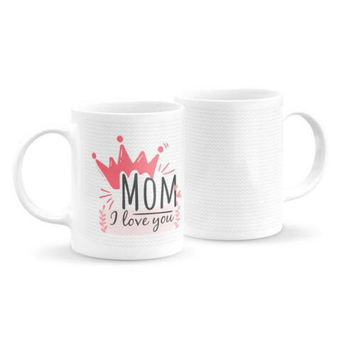 Szeretlek anya logós bögre 3.