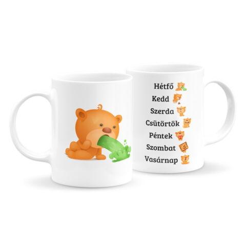 Macis emoji bögre - hétfő