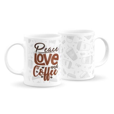 Szerelem és kávé bögre