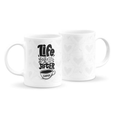 Éltető kávé bögre
