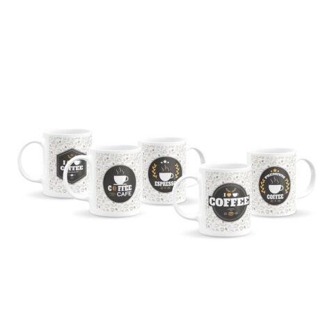 Emblémás kávés bögre kollekció (5 db)