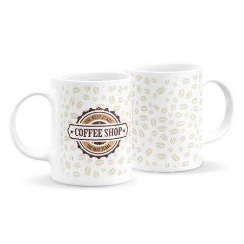 Logós kávés bögre 1