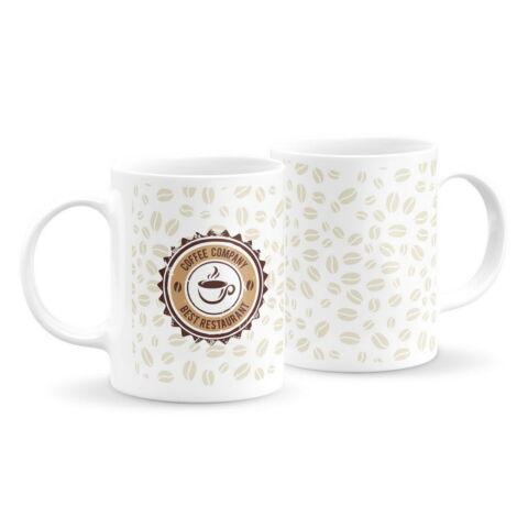 Logós kávés bögre 2