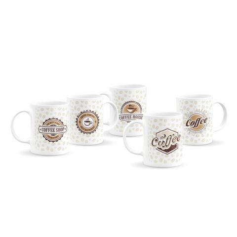 Logós kávés bögre kollekció (5 db)