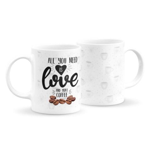 Szeretet és kávé bögre