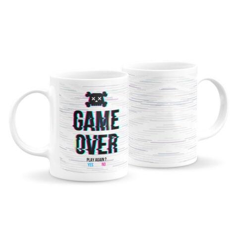 Game over feliratos bögre 3