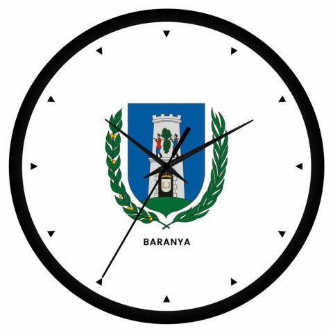 Baranya megye címeres falióra - órás