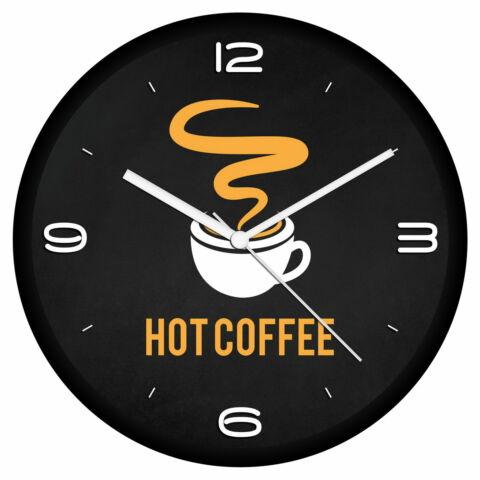 Forró kávé logós falióra
