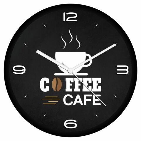 Kávé logós falióra 6